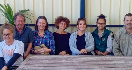 10 Deserts Project team participate in Fulcrum training in Ceduna